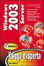 Windows Server 2003 Księga eksperta